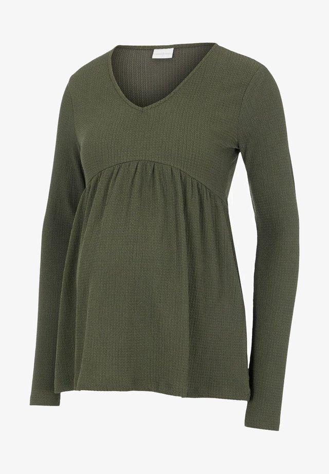 Pitkähihainen paita - frosty green