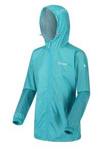 Regatta - PACK IT - Waterproof jacket - turquoise - 0