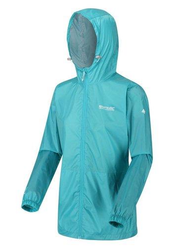 PACK IT - Waterproof jacket - turquoise