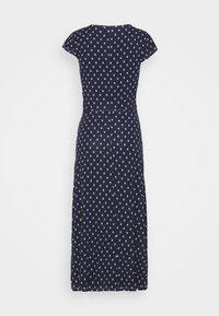 Anna Field - Short sleeves wrap belted maxi dress - Vestido largo - dark blue/white - 1