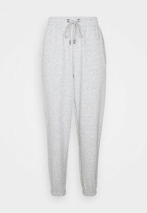 ONLFEEL LIFE NEW PANT - Tracksuit bottoms - light grey melange