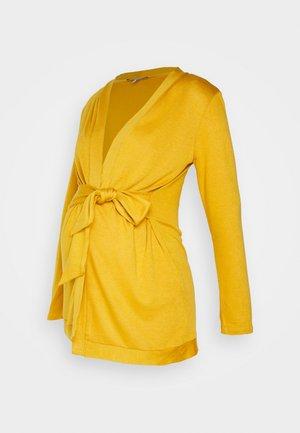 MILONGA - Cardigan - yellow mustard