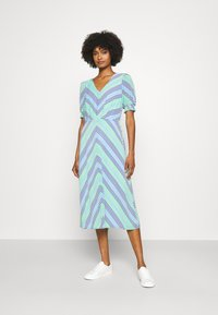 Lauren Ralph Lauren - GILLIAN DAY DRESS - Denní šaty - colonial cream - 0