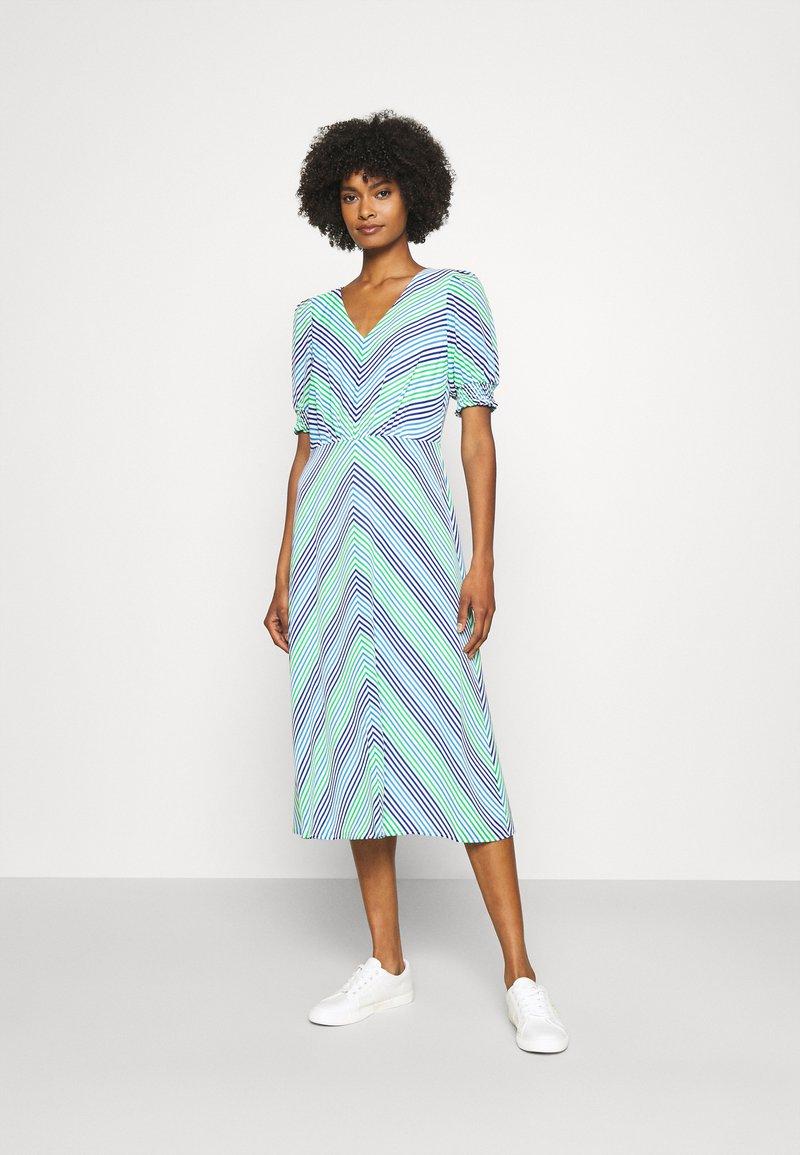 Lauren Ralph Lauren - GILLIAN DAY DRESS - Denní šaty - colonial cream