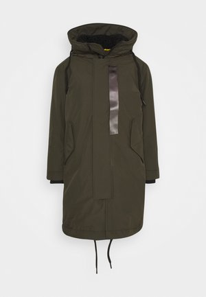 HOODED PADDED FISHTAIL  - Parkaer - asfalt