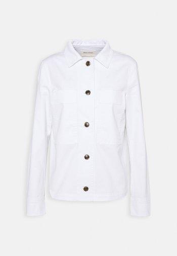 INDOOR JACKET - Summer jacket - white