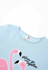 DeFacto - Print T-shirt - blue - 2