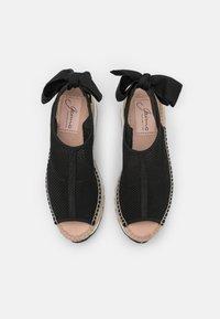 Gaimo - VILLA - Platform sandals - black - 5