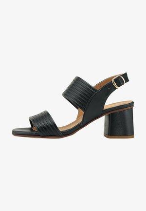 ADIA - Sandals - schwarz