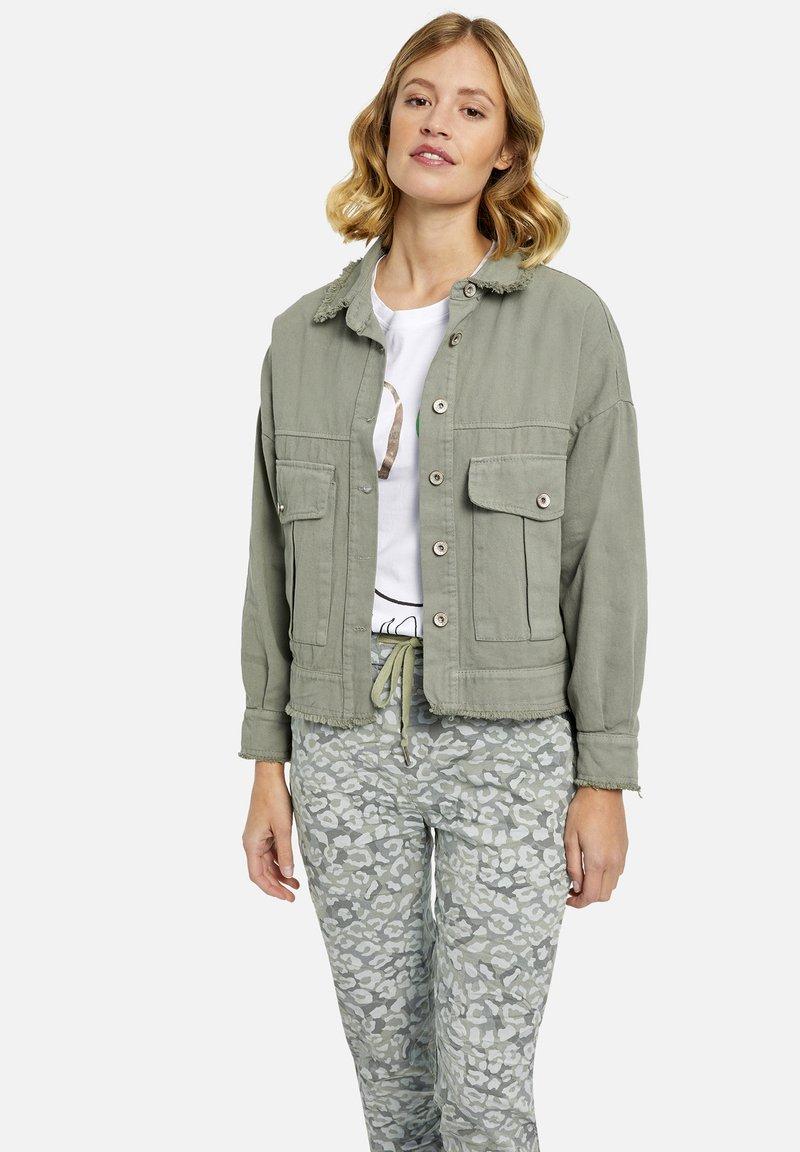 Heartkiss - Denim jacket - khaki