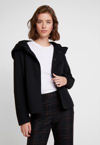 ONLY - ONLSEDONA LIGHT SHORT JACKET - Chaqueta fina - black - 0