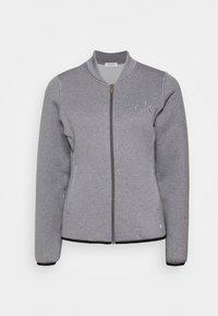 Calvin Klein Golf - MEREZ JACKET - Fleecová bunda - grey marl - 0