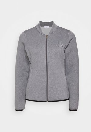 MEREZ JACKET - Fleecejacke - grey marl