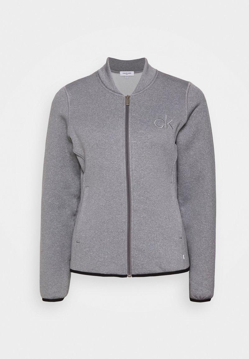 Calvin Klein Golf - MEREZ JACKET - Fleecová bunda - grey marl