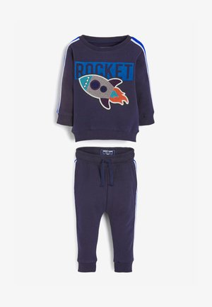 ROCKET BOUCLÉ SET - Trainingspak - blue
