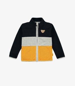 LET´S PLAY  - Fleece jacket - steiff navy