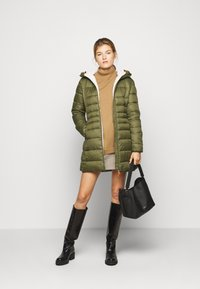 Save the duck - GIGAY - Winter coat - dusty olive - 1