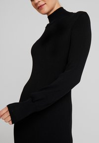 Love Copenhagen - MARIELC TURTLE NECK DRESS - Maxi dress - pitch black - 4