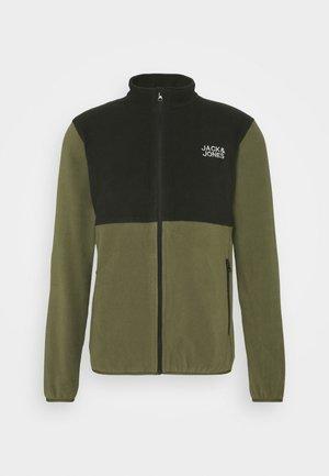JJHYPE - Fleece jacket - dusty olive