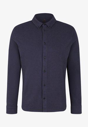 PIQUÉ HEMD  - Shirt - navy-blau