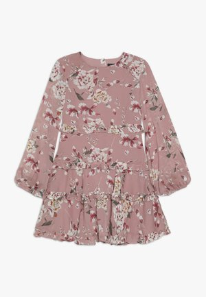 FLORAL FRILL DRESS - Day dress - rose