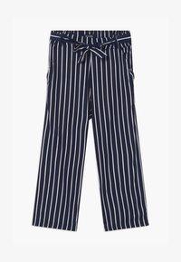 Blue Seven - TEEN GIRL STRIPE - Kalhoty - dark blue - 0