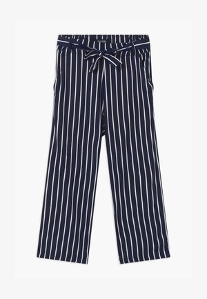 TEEN GIRL STRIPE - Trousers - dark blue