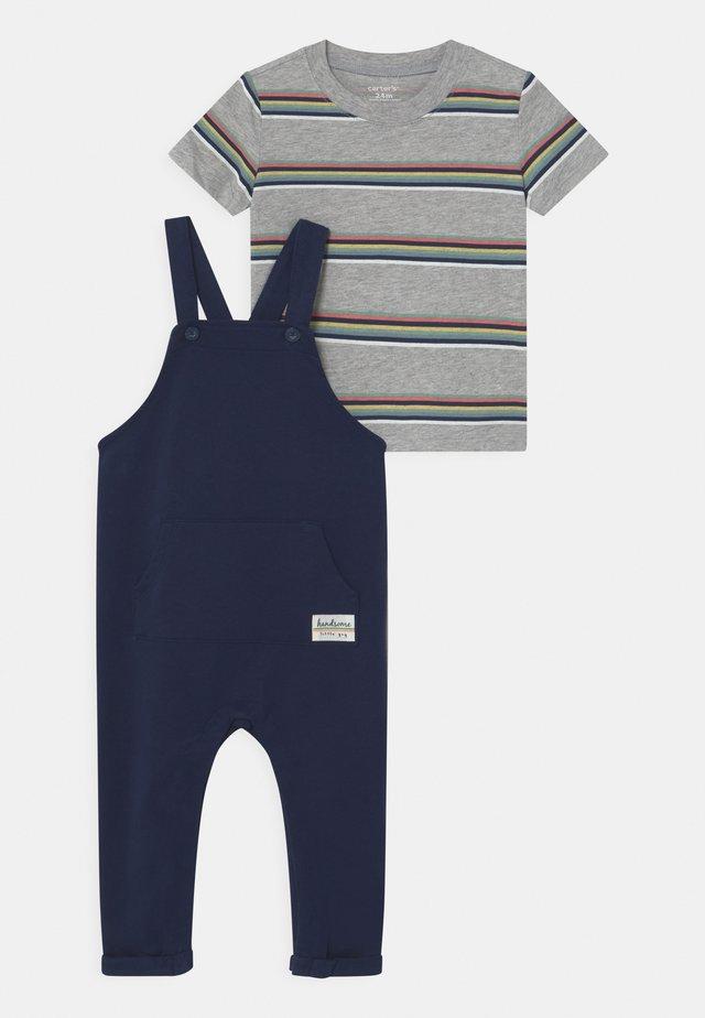 SET - T-shirts print - dark blue