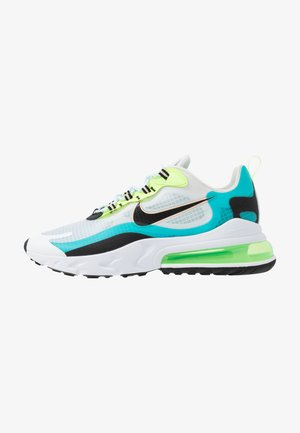 AIR MAX 270 REACT SE - Sneakersy niskie - oracle aqua/black/ghost green/washed coral/white