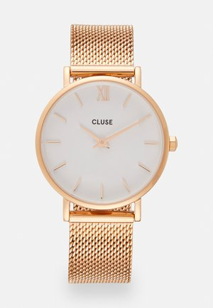 MINUIT - Zegarek - rose gold-coloured/white