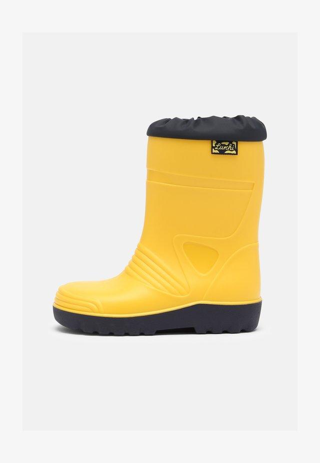 PAXO UNISEX - Regenlaarzen - yellow