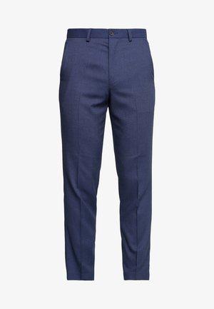 STAND ALONE BIRDSEYE - Kostymbyxor - blue