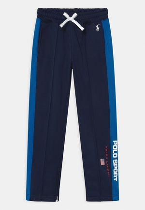 TRACK BOTTOMS - Tracksuit bottoms - navy/ royal