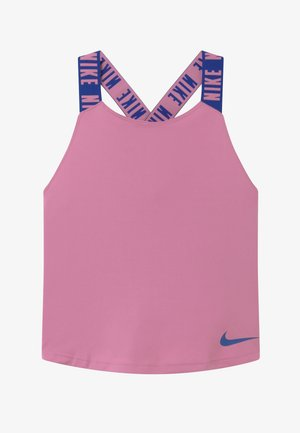 DRY TANK ELASTIKA - Sportshirt - magic flamingo/hyper blue