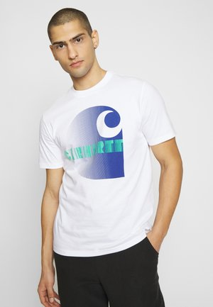 ILLUSION - Camiseta estampada - white