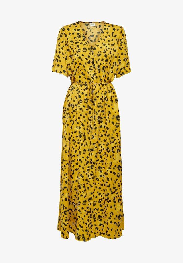 Korte jurk - harvest gold