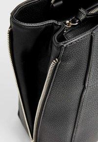 Stradivarius - Tote bag - black - 4