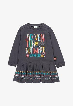 ADVENTURE & QUOT - Jersey dress - anthracite