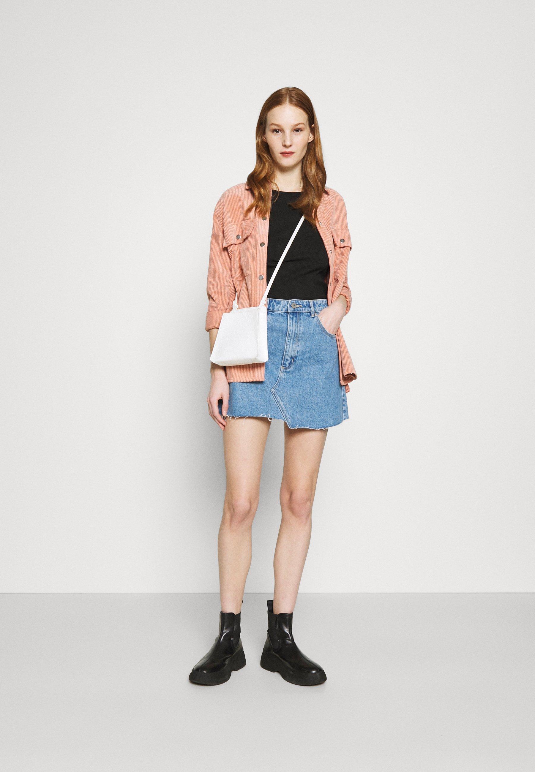 Women ALINE - Denim skirt