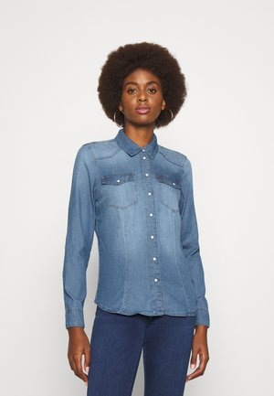 ONLROCK LIFE - Skjorte - medium blue denim