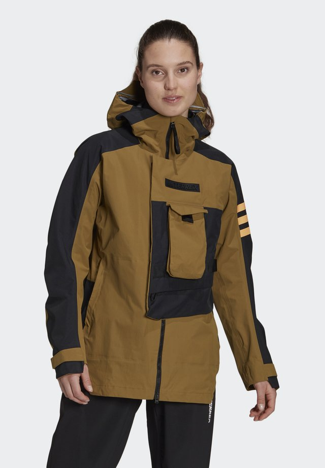 XPLORIC TECHNICAL RAIN.RDY HIKING JACKET - Hardshell jacket - wilmos/black