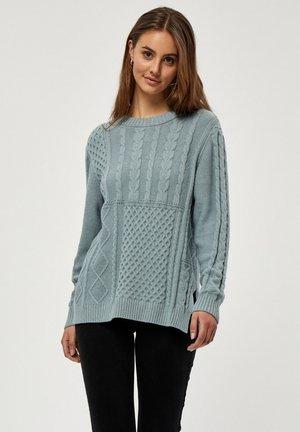 ELVA  - Stickad tröja - slate blue