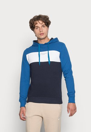 JJMONSE HOOD - Sweatshirt - classic blue