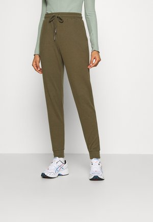 NMMISA CITY PANTS - Tracksuit bottoms - kalamata