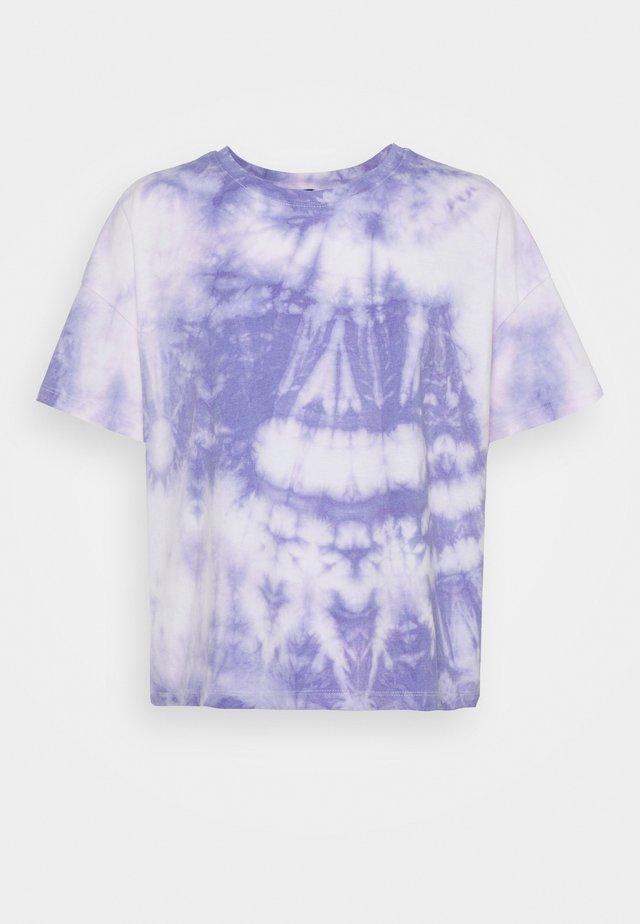 PCPANNI TEE - T-shirt imprimé - dahlia purple