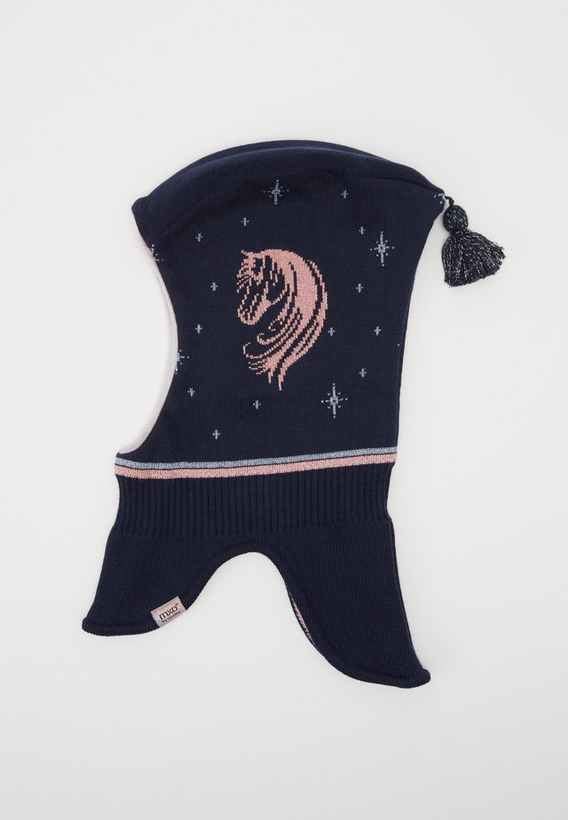 KIDS GIRL - Čepice - navy/dusty rose