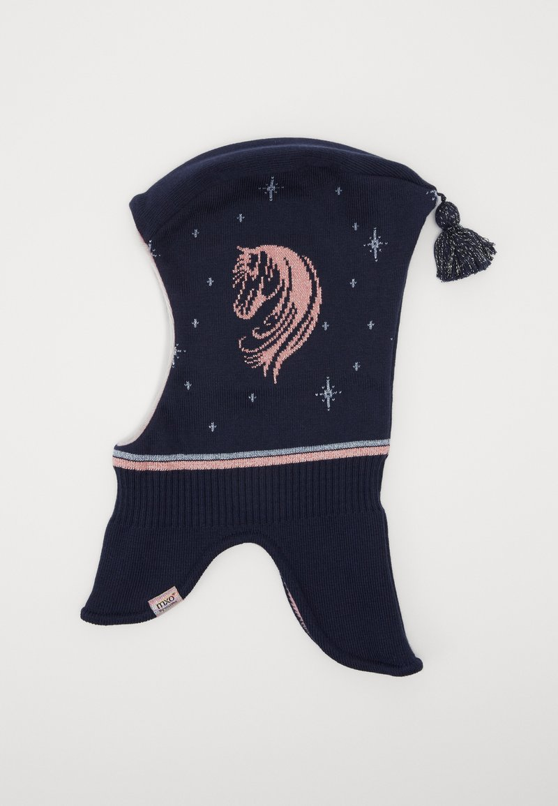 Maximo - KIDS GIRL - Beanie - navy/dusty rose