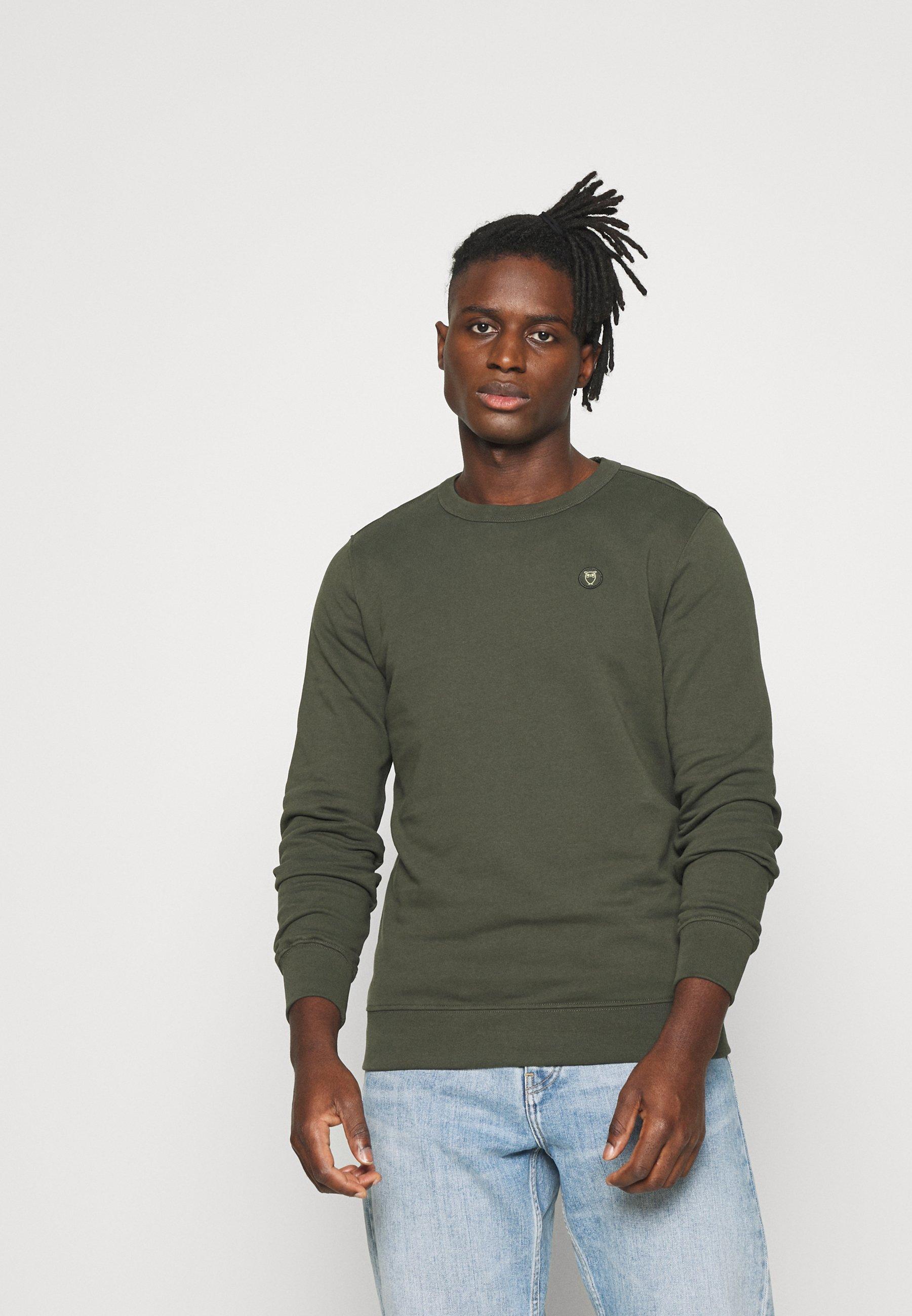 Homme ELM OWL BADGE - Sweatshirt