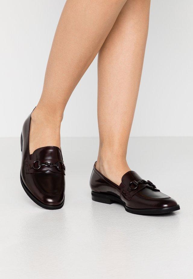 Nazouvací boty - chianti