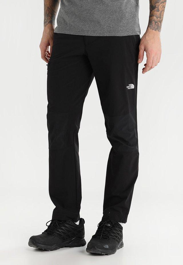 SPEEDLIGHT  - Outdoorové kalhoty - tnf black